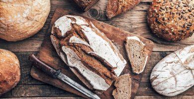El gluten en el pan